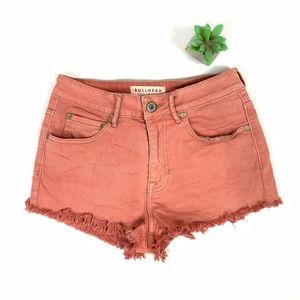Bullhead High Rise Jean Shorts size 5